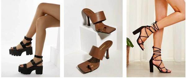 SheIn shoes high heels