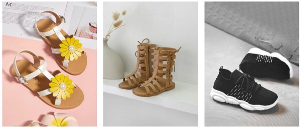 SheIn shoes for girls