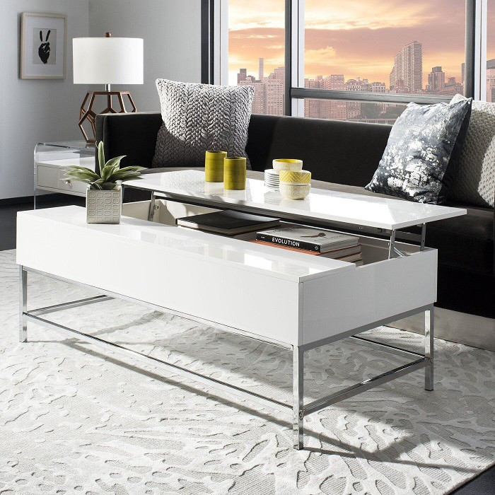 Wayfair white coffee table