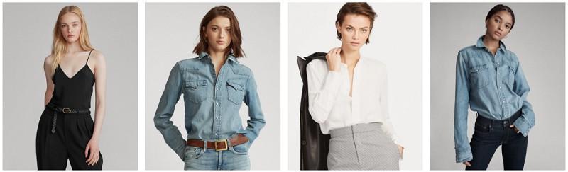 Ralph Lauren womens shirts outlet