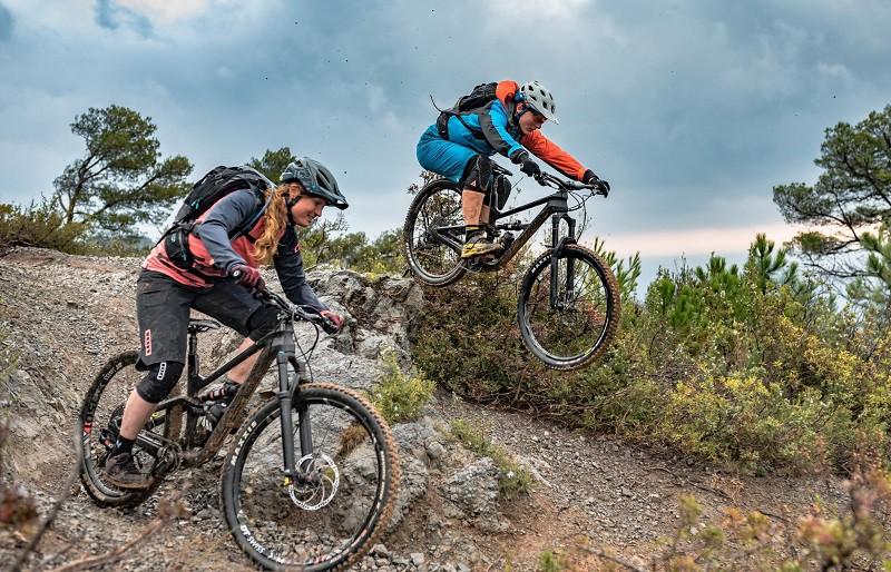 Sun and Ski mountain bikes