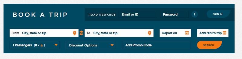 Booking Greyhound tickets online
