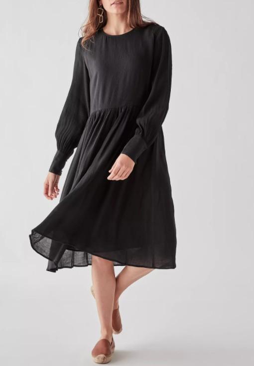 black midi dress Nordstrom