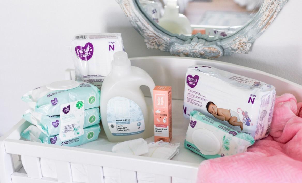 Walmart baby's items