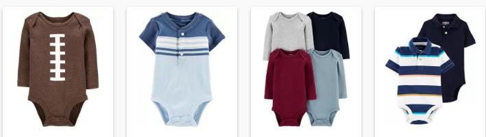Carters Baby bodysuits