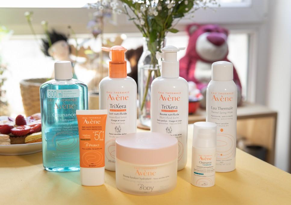 EAU Thermale Avene skincare brand