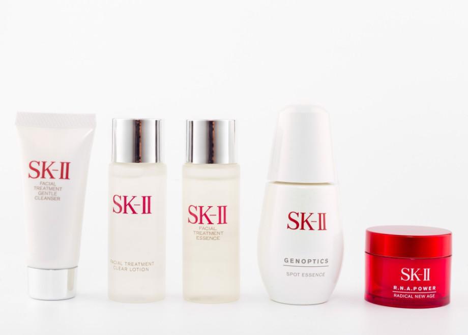 SK-II skincare brand