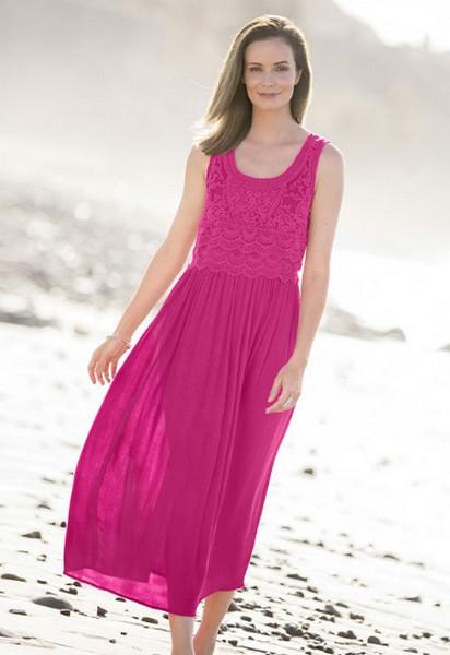 Damart Crochet Detail Dress