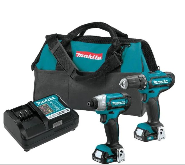 Dad's gift Home Depot Makita Cordless Drill Kit