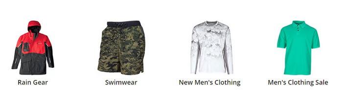 Cabelas men clothing