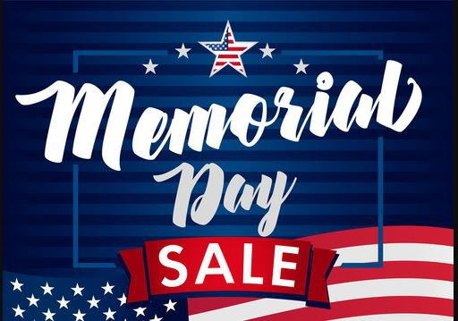 Memorial Day Shopping Sale