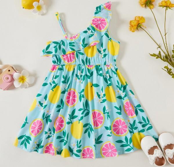 PatPat Sweet Summer One Shoulder Tunic Dress